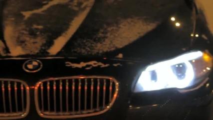 Страст за шофиране (bmw F10 по руските улици)