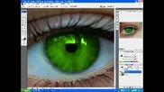 Сменете Цвета На Очите Си С Photoshop +Sub