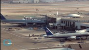 Bomb Squad At Los Angeles Airport Detonate Smoking Bag