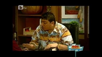 Карфиол назначава Халехандро за шеф на телевизията ( Пълна лудница )