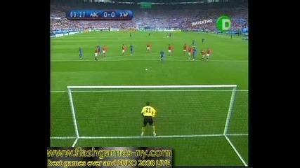 - Нашите братя Хървати отбелязаха гол за 0:1 срещу Автрия!!!евро 2008 - 08.06.08 Hq