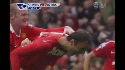 Феноменален гол на Феномена Бербатов!!