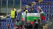 """Феновете на Лудогорец на стадион """" Олимпико """""""