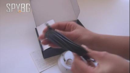 Скрита камера в димен датчик с 4 Gb вградена памет от Spy.bg