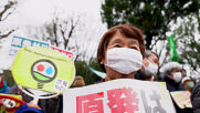 Japan: Protesters rally agaisnt nuclear power ahead of 10th anniv of Fukishima nuclear disaster