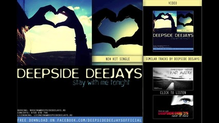 Deepside Deejays - Stay With Me Tonight [ New 2011 ]