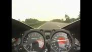 Suzuki Gsxr Hayabusa 340 km/h