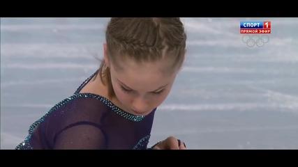 Юлия Липницкая. Фигурно пързаляне – кратка програма. Сочи 2014