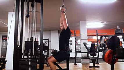 90 дневна трансформация | Изграждане на мускул, горене на мазнини | Ден 38 - Гръб, задно рамо