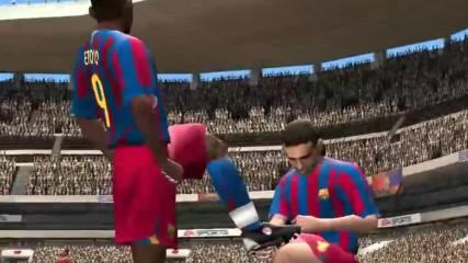 Фифа Демо 06 гол на Ето'о