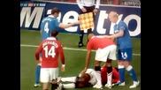 Антонио Валенсия чупи крак!!