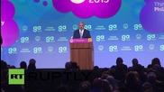 USA: Israel's Netanyahu talks 'peace' and 'defence' in Washington keynote speech