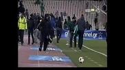 Пао - Олимпиакос ( Волос ) - Ултраси на Пао се опитаха да линчуват отбора!!! *18.12.2010г.*