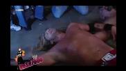 Wrestlemania 25 John Cena vs Big Show vs Edge+грандиозното Излизане на John Cena