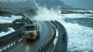 Вижте тези смразяващи кадри от 5-те най-опасни пътища на планетата!