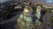 Летяща камера над София