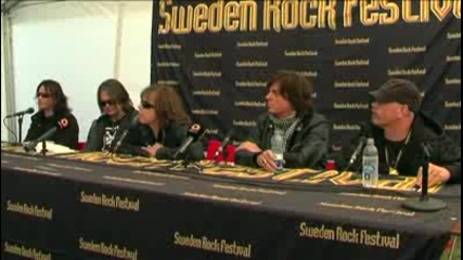 Europe - Press Conference Srf - 1