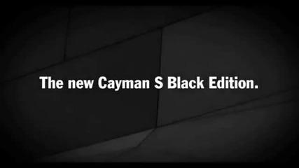 2011 Cayman S Black Edition -- Webcars.bg