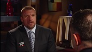 2014 is going to be Epic - Wwe Coo Triple H addresses the returns of Brock Lesnar and Batista