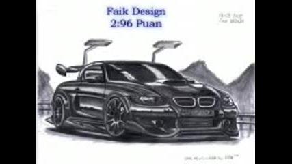 Рисунки на Bmw - та