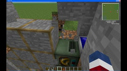 Minecraft 1.2.5 Redpower Frame Door