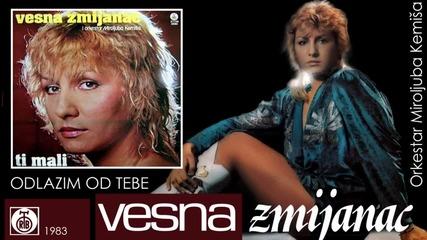 Vesna Zmijanac - Odlazim od tebe - (Audio 1983)