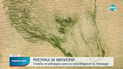 Очаква се рекордна цена за произведение на Леонардо да Винчи