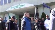 "Гранични полицаи блокираха магистрала ""Марица"""
