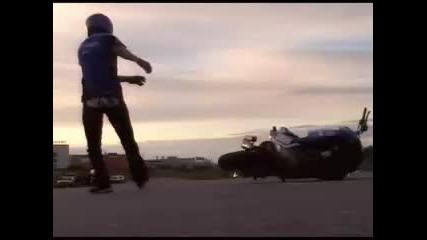 Andreas Gustafsson Yamaha Stunt