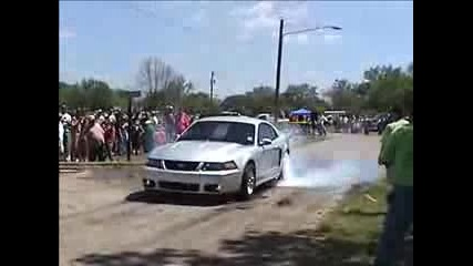 Ford Mustang Burnout