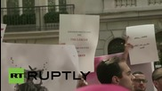 USA: 'You Stink' supporters rally outside Lebanese embassy in NYC