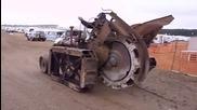 Изключителен верижен трактор произведен у Перник!