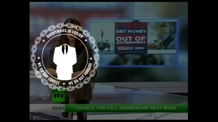 Анонимните Окупират