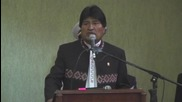 Bolivia: Gazprom Chairman and Pres. Morales laud energy agreements