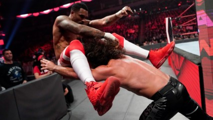 Montez Ford vs. Seth Rollins: Raw, Feb. 24, 2020