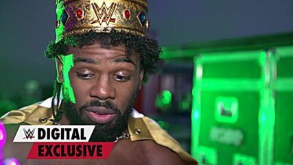 Xavier Woods' emotional first moments as King: WWE Digital Exclusive, Oct. 21, 2021