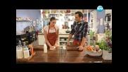 Вурстчета от свински крачета, овчарска салата с авокадо, милфьой с ванилов крем - Бон Апети (27.05)