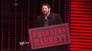 Bad News Barrett's New Year's Toast / Първична сила 30.12.2013г.