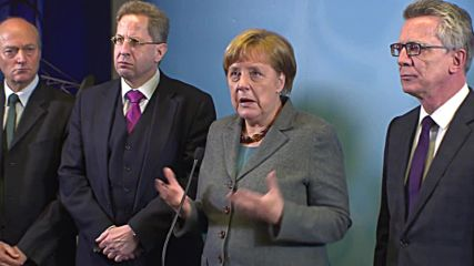 Germany: Merkel pushes better cooperation between intelligence agencies