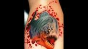 много яки 3d Tattoos