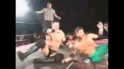 Aj Styles срещу Matt Sydal [ Evan Bourne ] { R O H 1.14.06 }