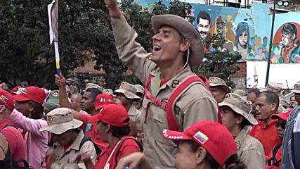 Venezuela: Morales supporters rally in Caracas to 'fight' for former Bolivian leader