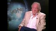 Michael Gambon - интервю Harry Potter and the Half - Blood Prince - част 1