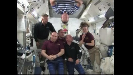 Интервю с екипажа на Международната космическа станция 18.05.2010