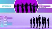 Sonamoo - Friday Night Kpop Line Distribution Color Coded -