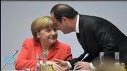 Hollande, Merkel Call for Implementation of Minsk Agreement