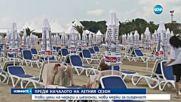 Нови цени на чадъри и шезлонги по морето - централна емисия