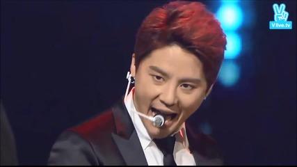 Xia Junsu - Oeo (151029 Korean Popular Culture & Arts Awards)