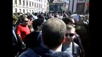 Началото на протеста на полицаите