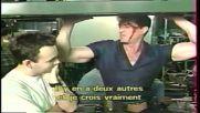 Силвестър Сталоун в зад кулисите на филма си Съдия Дред (1995)